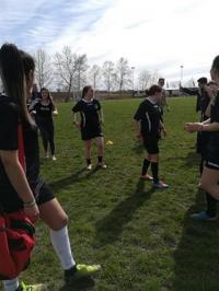 2017-18 Νίκη της ομάδας ποδοσφαίρου κοριτσιών
